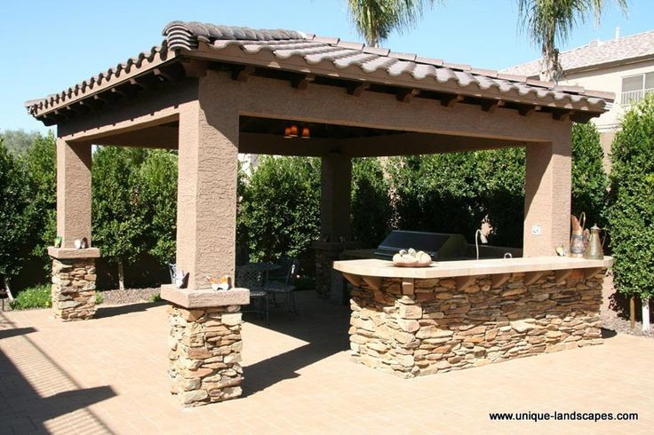 Landscape design gallery arizona environments inc for Southwest pergola